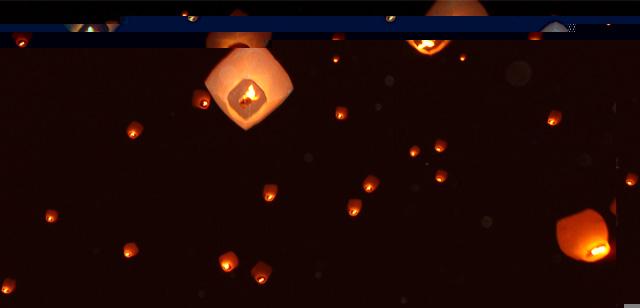 Lampade Cinesi Volanti Significato: Lampade cinesi antiche gennaio volo di la...