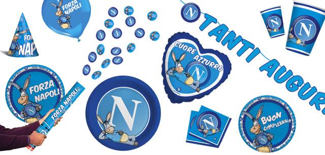 Ben noto Il Party si tinge d'azzurro con SSC Napoli - Bigparty Blog ZZ54