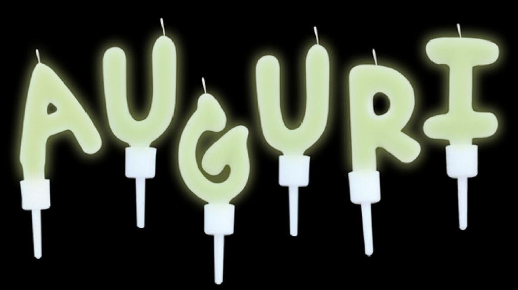 candeline fluorescenti