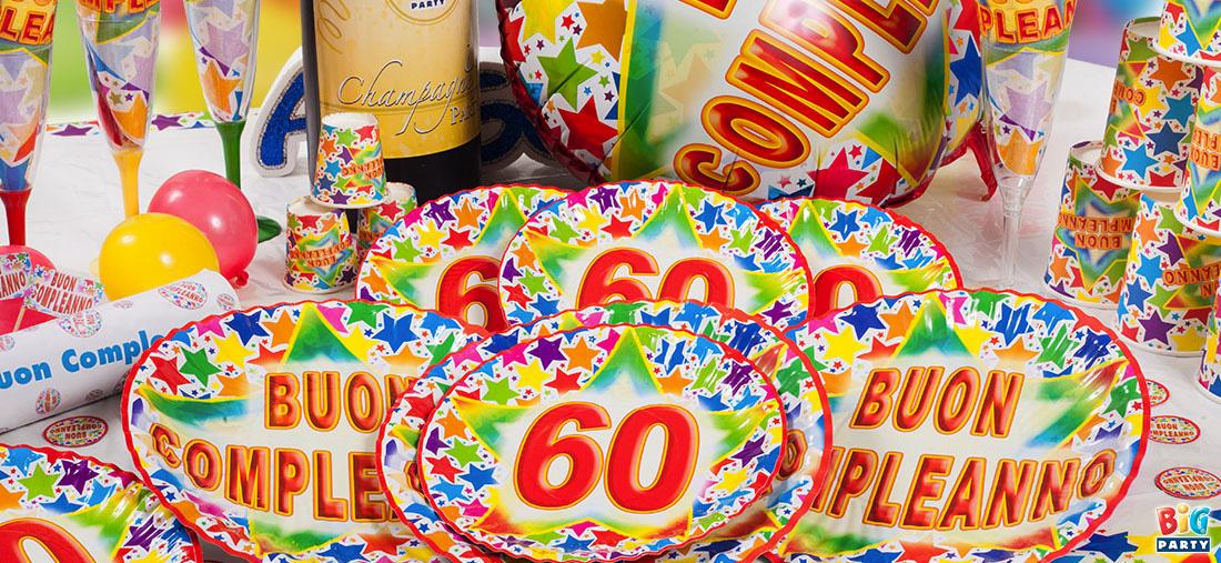 Favoloso coordinato-party-festa-compleanno-60-anni - Bigparty Blog LM18