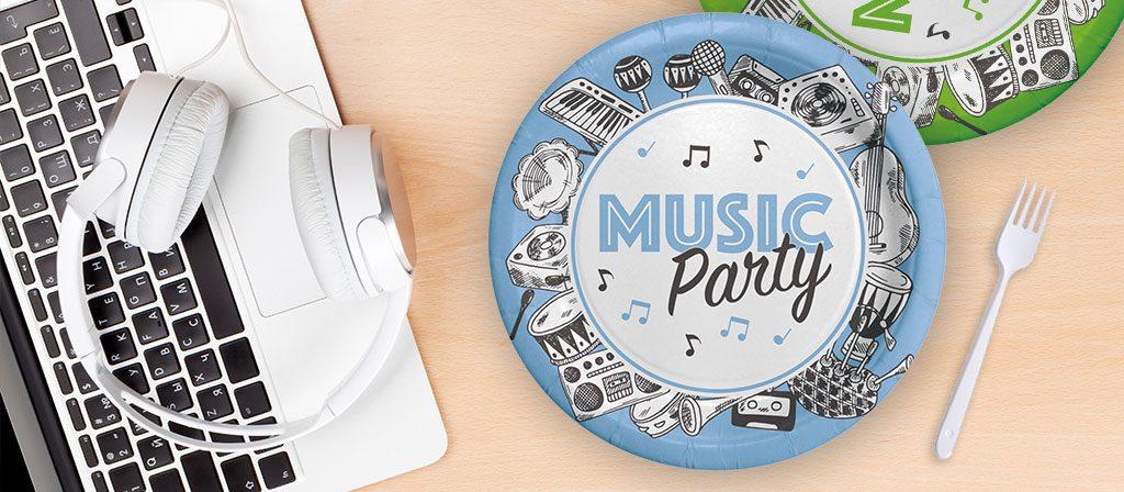 festa a tema musica e dischi