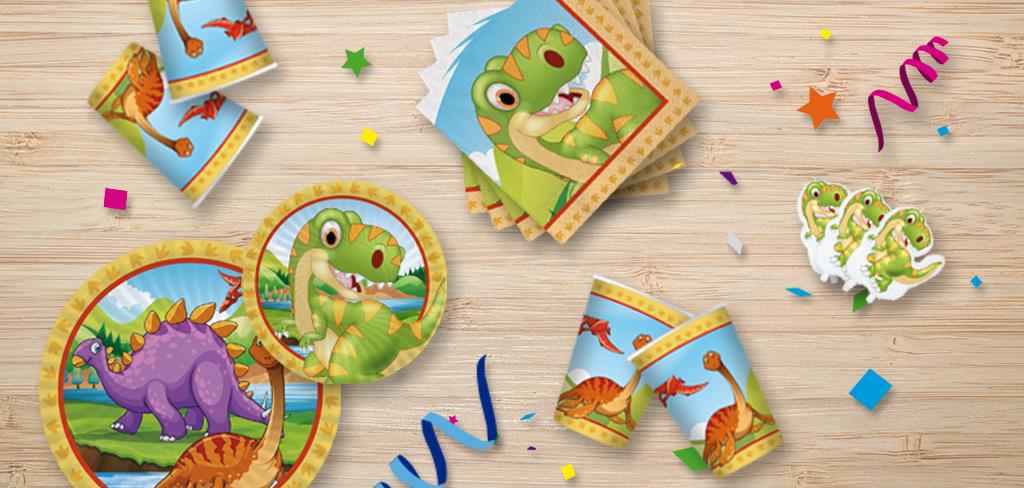 feste a tema dinosauri