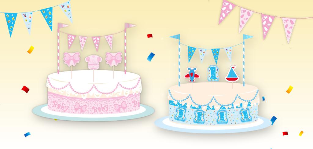 decorazioni torte bambini