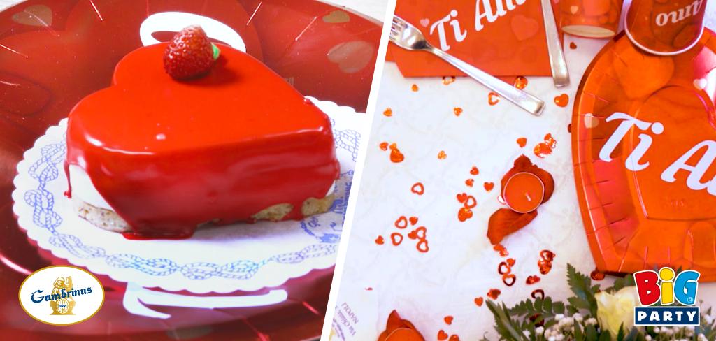 big pèarty e gran caffè gambrinus insieme per san valentino
